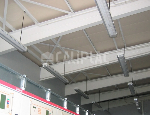 PLASTERBOARD COVERING