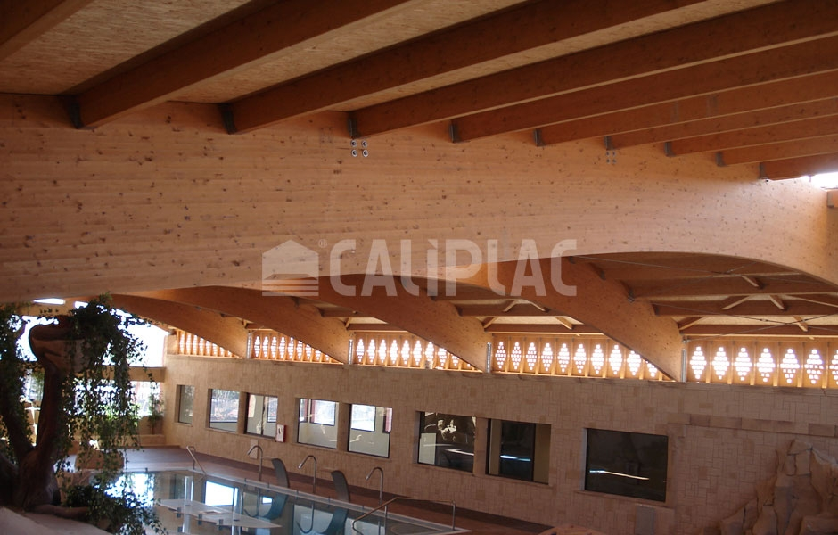 Spa domasa caliplac for Panel sandwich tenerife