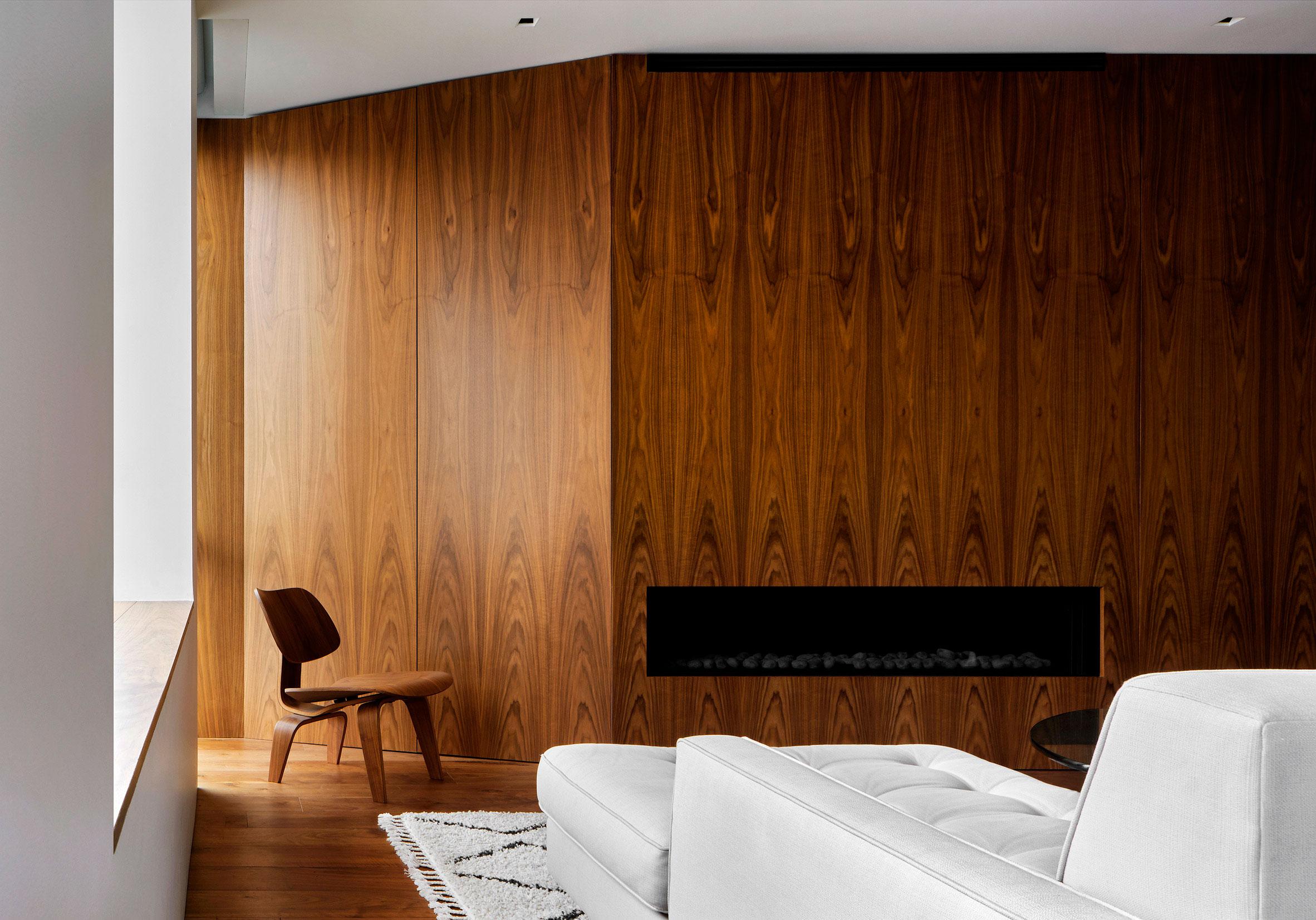casa singular de madera