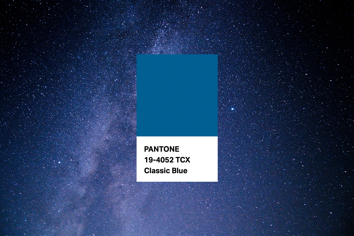 Decoración Pantone Blue. Caliplac