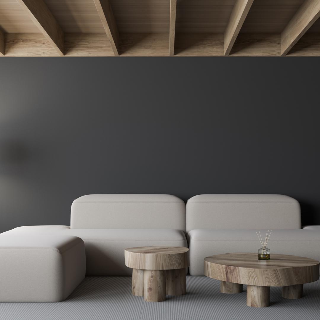 Acabados de madera. Salón